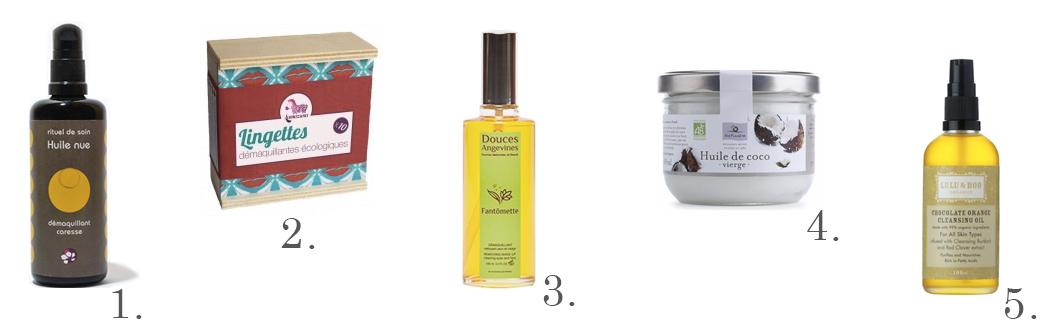 démaquillage, lingettes , huiles, vegan, naturel, cruelty free