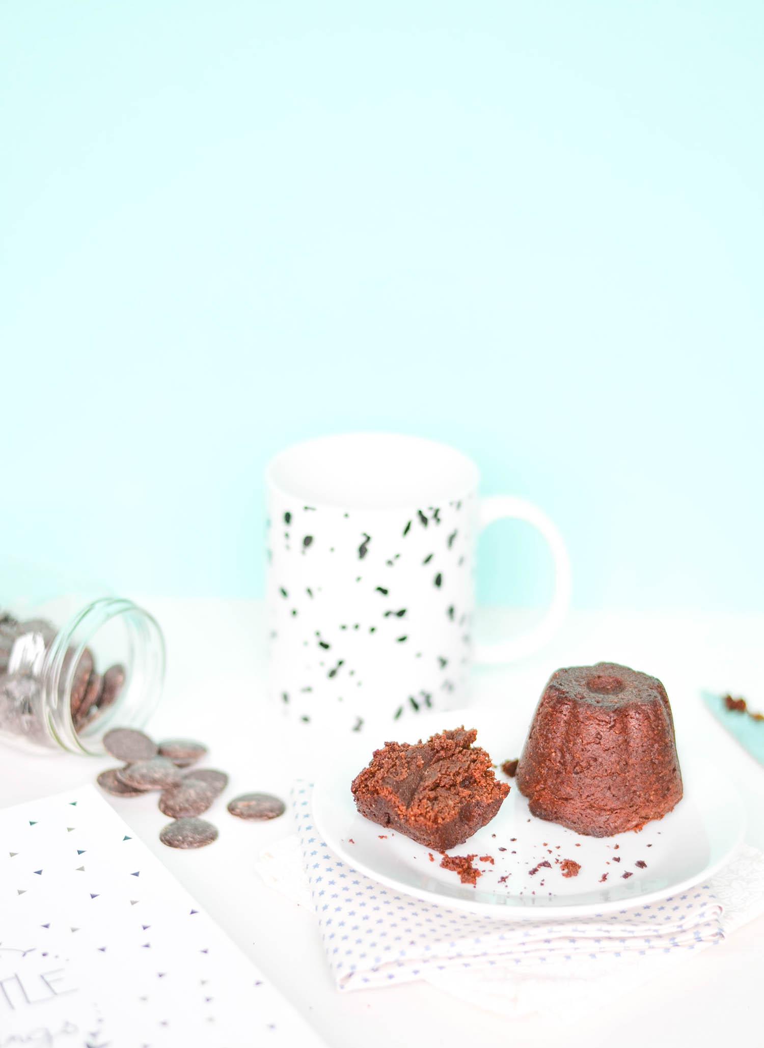 ma recette de petits fondants au chocolat vegan et sans. Black Bedroom Furniture Sets. Home Design Ideas